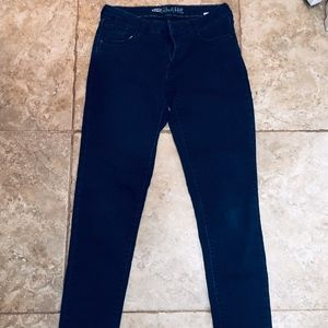 Old Navy Rockstar skinny low rise size 8 Tall